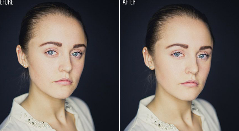 Why We Love Using Frequency Separation in Photoshop to Retouch Headshots