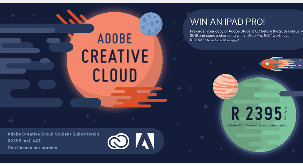 Adobe Student Package – Pre-order and WIN!
