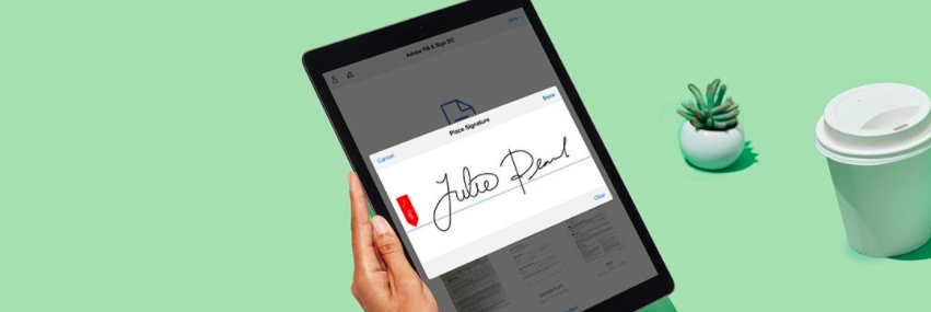 Transforming your business with Adobe Sign