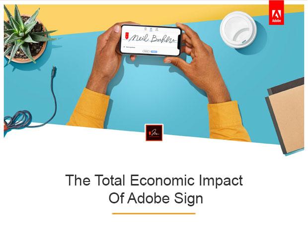 Economic Impact of Adobe Sign